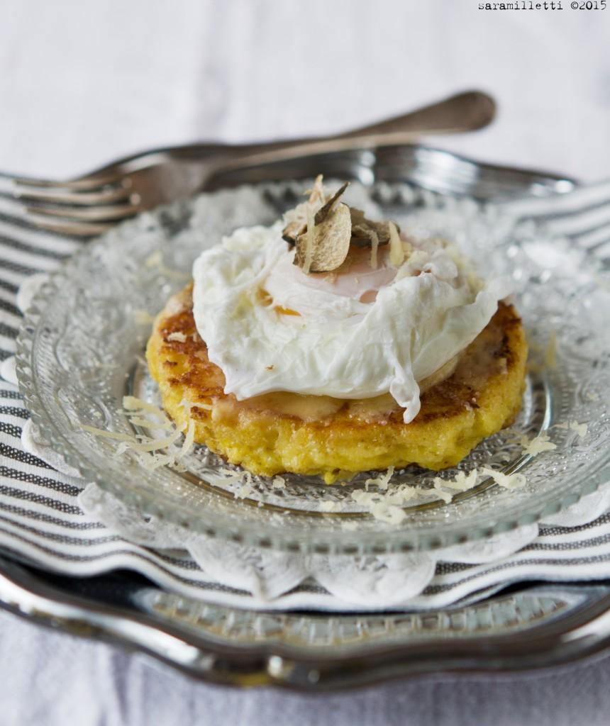 Pain Perdu con Gruyère, uovo poché e tartufo bianco