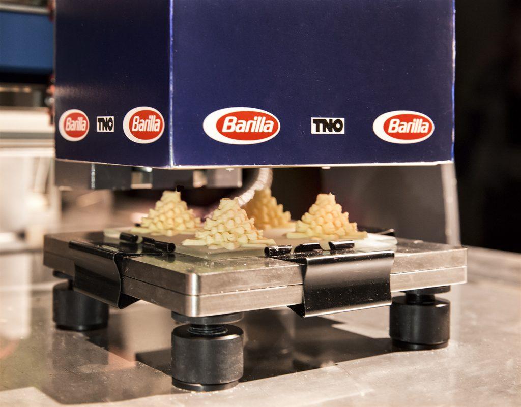 stampante-barilla-3d-durante-la-produzione-del-formato-vortipa