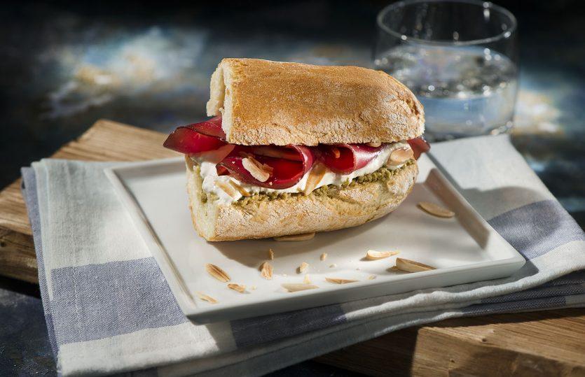 5 panini con i salumi Citterio
