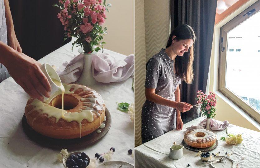 Una bundt cake per Kati [e le immagini della mia Social Breakfast]