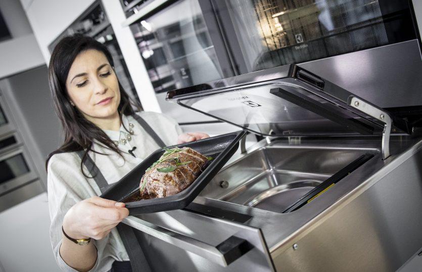 Focaccia con roast-beef e carciofi con il forno a vapore #MakeLifeDelicious